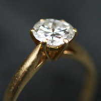 1.2ct Single Stone 18ct Gold Engagement Ring by Ruby Gray's | Ruby Gray's Antique & Vintage Rings