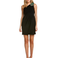 Rue La La - Shoshanna Black Beaded Dress