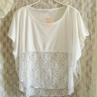 BlueBand — Lace Shirt