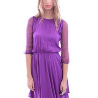 Claudia Dress by Motel | Vintage Style Clothing | Violet Dress | MessesOfDresses.com