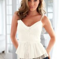 Camisole ruffle top by VENUS