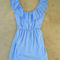 Junebug Dress in Periwinkle [3756] - $34.00 : Vintage Inspired Clothing & Affordable Fall Frocks, deloom | Modern. Vintage. Crafted.