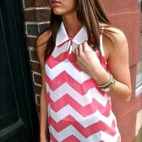 Pink Missoni Tank Top | The Rage