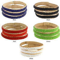 Fair Trade - Gifts - Colorful Beaded Malian Bracelets - Set of 3