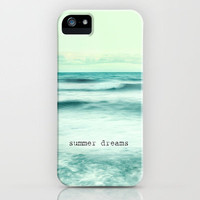 Summer dreams at the sea iPhone Case by Guido Montañés