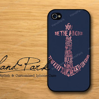 Nautical Anchor iPhone 4 Case, iPhone 4s Case, iPhone Case, iPhone hard Case