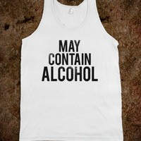 May Contain Alcohol (Tank) - Party Fun