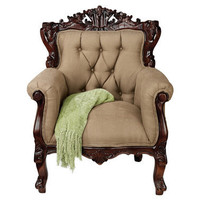 The Hawthorne Rolled Arm Chair - AE8109 - Design Toscano