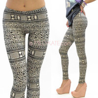 Tribal Print Aztec Leggings from Milly Kate