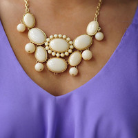 The Finishing Touch Necklace: Ivory | Hope&#x27;s
