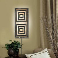 Illuminada - Geo I Wall Sconce Light (8815) - Small - Wall Sconce Lights