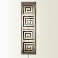 Illuminada - Geo II Wall Sconce Light (8814) - Large - Wall Sconce Lights