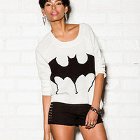 High-Low Bat Sweater | FOREVER 21 - 2057862672