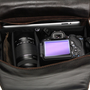 14  Camera Bag  Black  Mission style  Full by CopperRiverBags