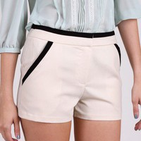 Luxe Tux Dress Shorts by Lush @ FrockCandy.com