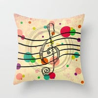 Solo... Throw Pillow by Lisa Argyropoulos | Society6
