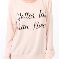 Better Late Than Never Sweater | FOREVER 21 - 2043375344