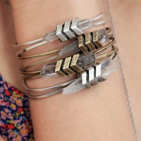 TOMTOM Jewelry Chevron Aura Cuff