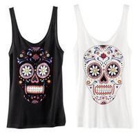 Style Mermaid — Sugar Skull Tank