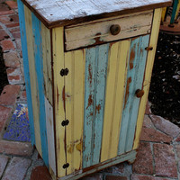 Reclaimed Wooden Table - Honey's Treasures - Wood Furniture - Ready to ship in color shown