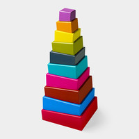 MoMA Topsy Turvy Stacking Blocks | MoMA Store