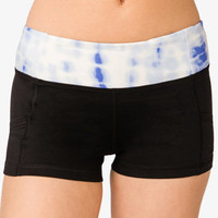 Tie-Dye Cardio Shorts | FOREVER 21 - 2027704455