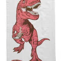 Diner-saurs Tea Towel | Mod Retro Vintage Kitchen | ModCloth.com