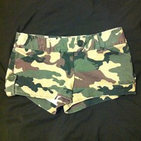 Camo Shorts