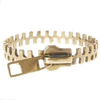 Alkemie Jewelry &amp;#124; Zipper Bangle