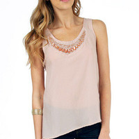Everyday Embellished Tank Top $36