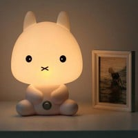 Cute Cartoon Baby Rabbit Night Light Lamp