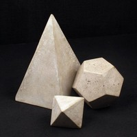Serax Cement Geometric Object Small | Darkroom