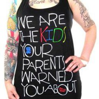 ROCKWORLDEAST - Mac Miller, Girls Tank Top, We Are The Kids
