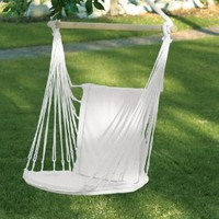 Amazon.com: Cotton Padded Swing Chair #34302: Home & Kitchen