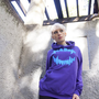 deviantART Shop Men's & Women's Apparel, Gear & Accessories | Hoodies | Fangs Pullover Hoodie - Icy Grape