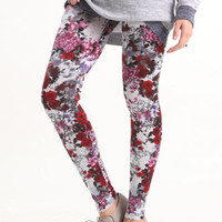 Nollie Splatter Floral Leggings at PacSun.com