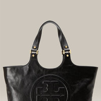Tory Burch 'Bombe' Glazed Leather Tote | Nordstrom