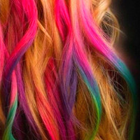 Set of 24  Premium Salon Grade Colored Hair by liltutuprincess