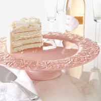 &quot;Rose&quot; Cake Plate - Horchow