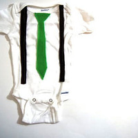 SALEFirst St Patricks Day Boy OutfitVintage Tie and by wildjuniper