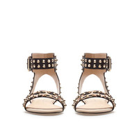 STUDDED LEOPARD PRINT VAMP - Woman - New this week - ZARA United States