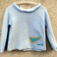 Supermarket: Ultra Lovely Sweater in snow blue from eeCee bb