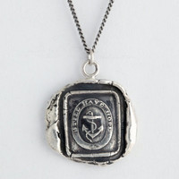 Anchor Talisman Necklace