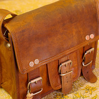 Leather Bag Kindle Bag Messenger Shoulder Cross body Bag Satchel Small Handbag Purse