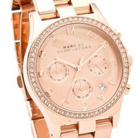 Marc by Marc Jacobs Henry Glitz Chronograph Watch | SHOPBOP Save 20% with Code SPRINGEVENT