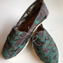 Branching out-hand painted on TOMS shoes-made to order-cutomize the colors