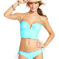 California Waves Swimsuit, Halter Tankini Top &amp; Side-Tie Brief Bottom - Womens Swimwear - Macy&#x27;s