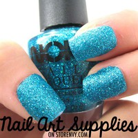 nailartsupplies | Mermaid's Dream - Super Glitter Aquamarine Blue Nail Polish Lacquer 16ml | Online Store Powered by Storenvy