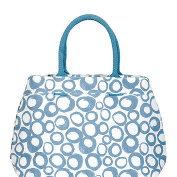 Azure Cassis City Tote
