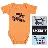 Amazon.com: Baby Sayings Bodysuit - Wild Boy: Clothing